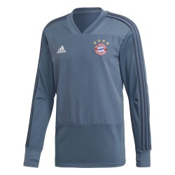 Sweat entraînement Bayern Munich Europe gris 2018/19
