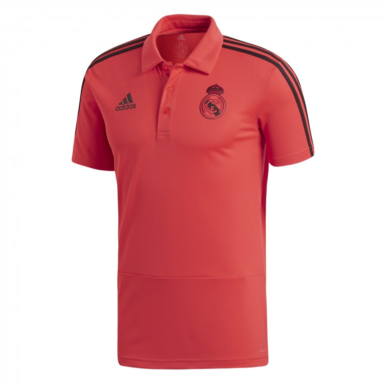 Polo Real Madrid Europe rouge 2018/19