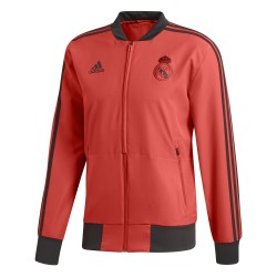Veste survêtement Real Madrid Europe rouge 2018/19
