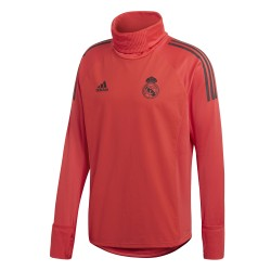Sweat col montant Real Madrid Europe rouge 2018/19