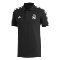 Polo Real Madrid 3S noir 2018/19