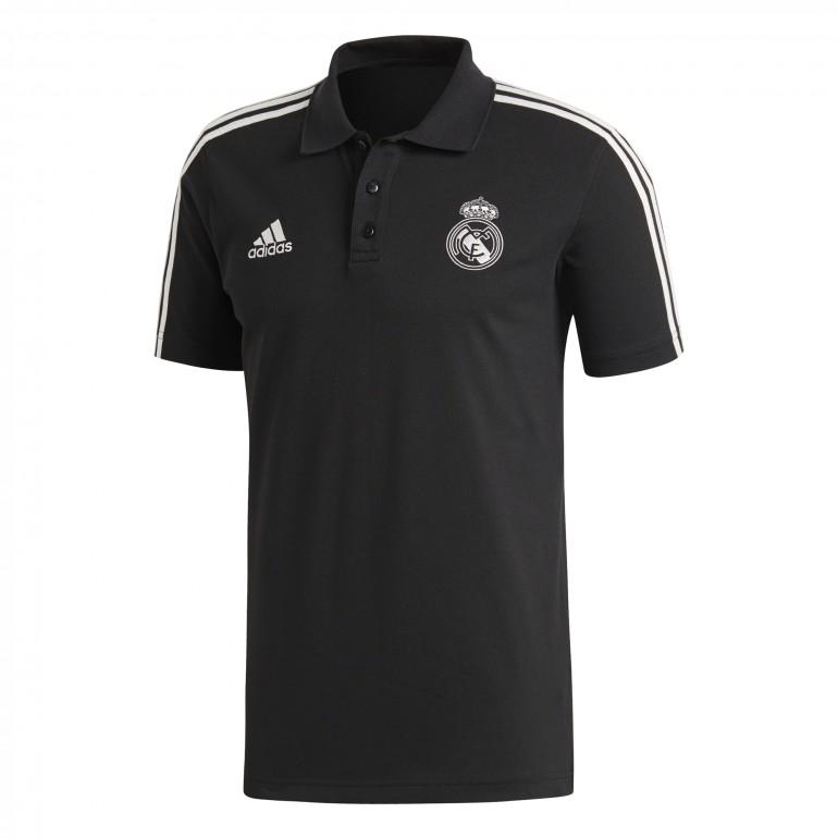 Polo Real Madrid 3S noir 2018/19
