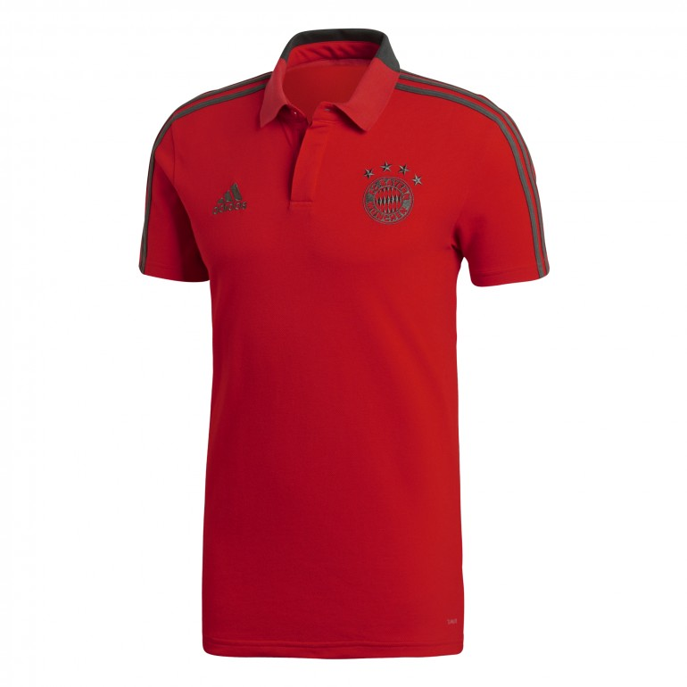 Polo Bayern Munich rouge 2018/19