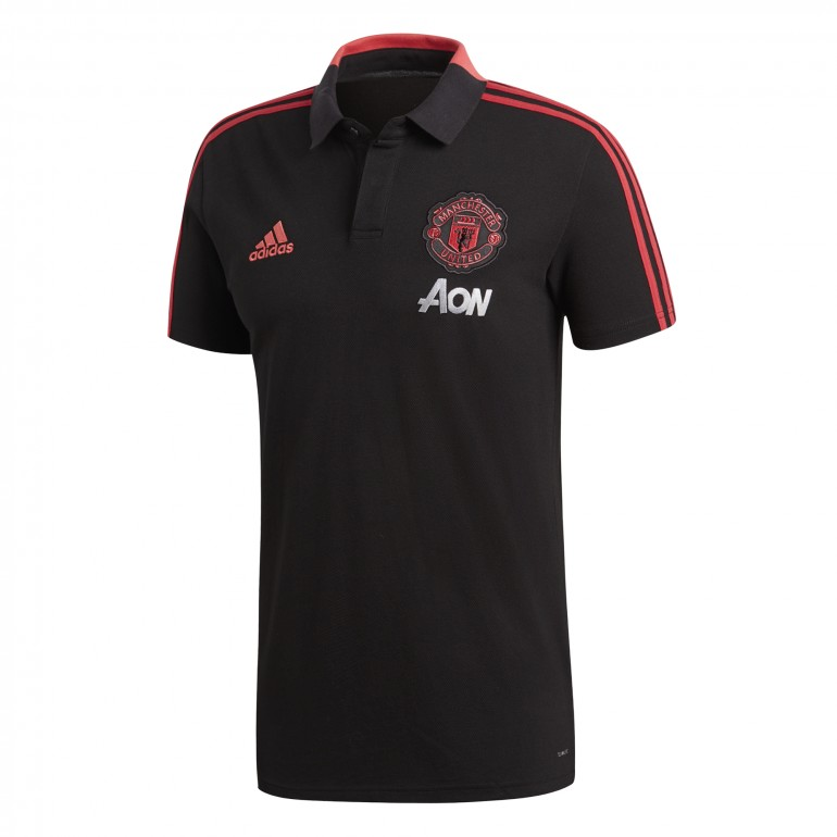 Polo Manchester United noir 2018/19