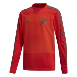 Sweat entraînement junior Bayern Munich gris 2018/19