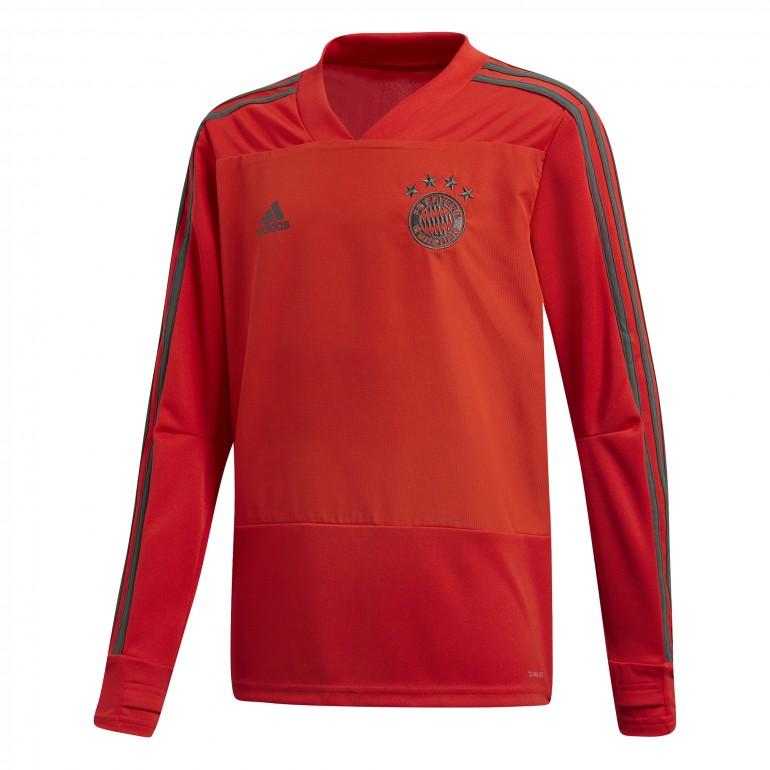 Sweat entraînement junior Bayern Munich gris 2018/19