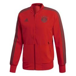 Veste survêtement Bayern Munich rouge 2018/19