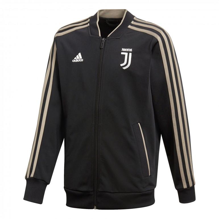 Veste survêtement junior Juventus noir 2018/19