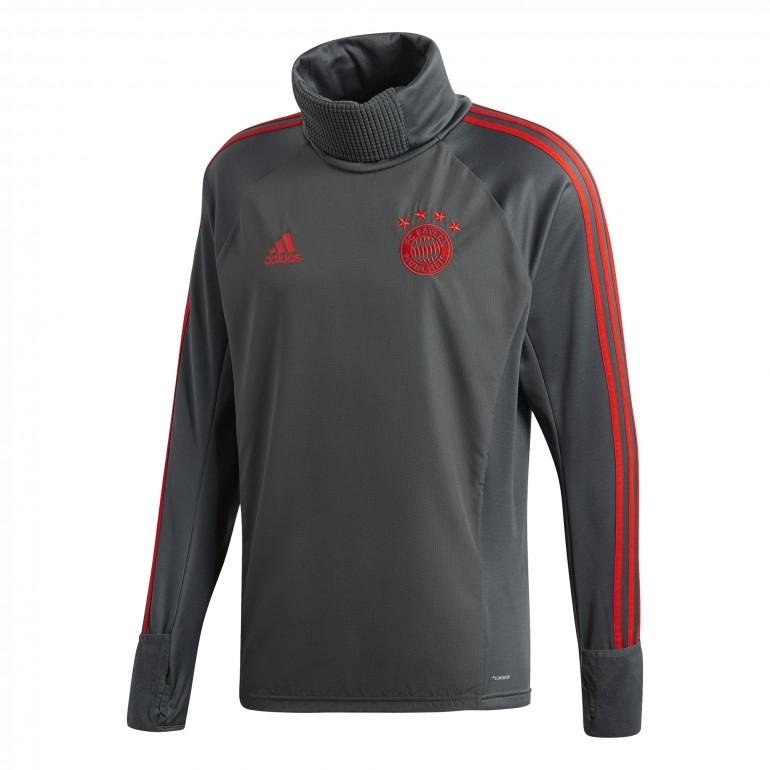 Sweat col montant Bayern Munich gris 2018/19