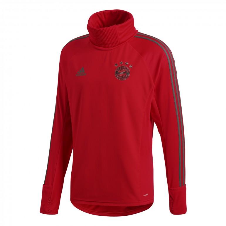 Sweat col montant Bayern Munich rouge 2018/19