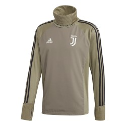 Sweat col montant Juventus vert 2018/19