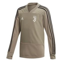 Sweat entraînement junior Juventus kaki 2018/19