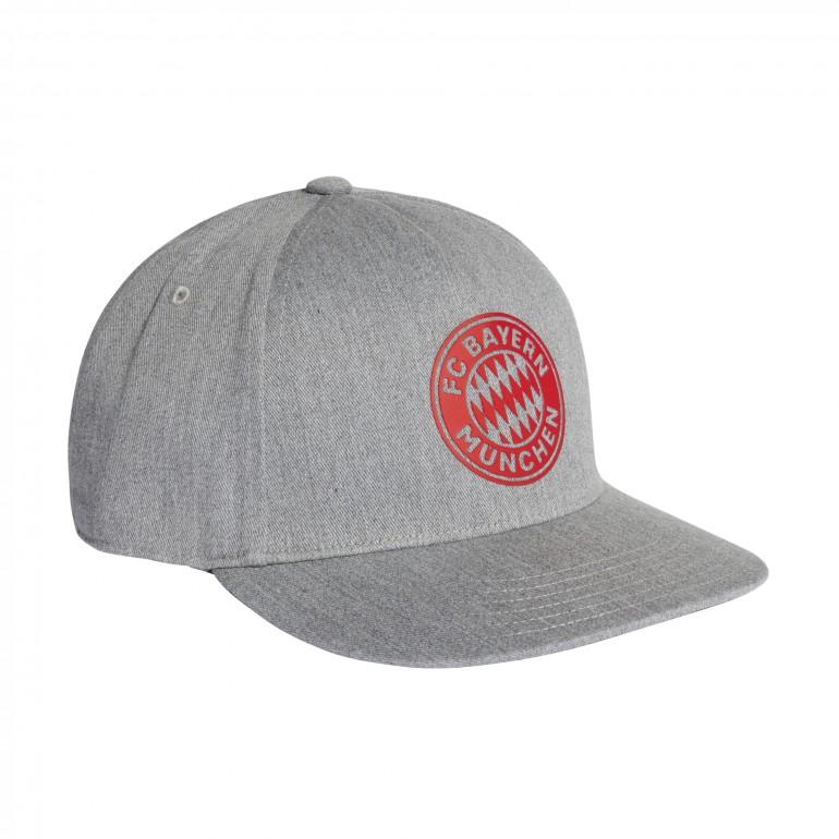 Casquette Bayern Munich S16 gris rouge 2018/19