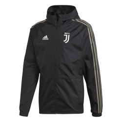 Veste imperméable Juventus noir 2018/19