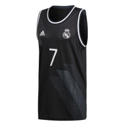 Maillot basket Real Madrid noir 2018/19