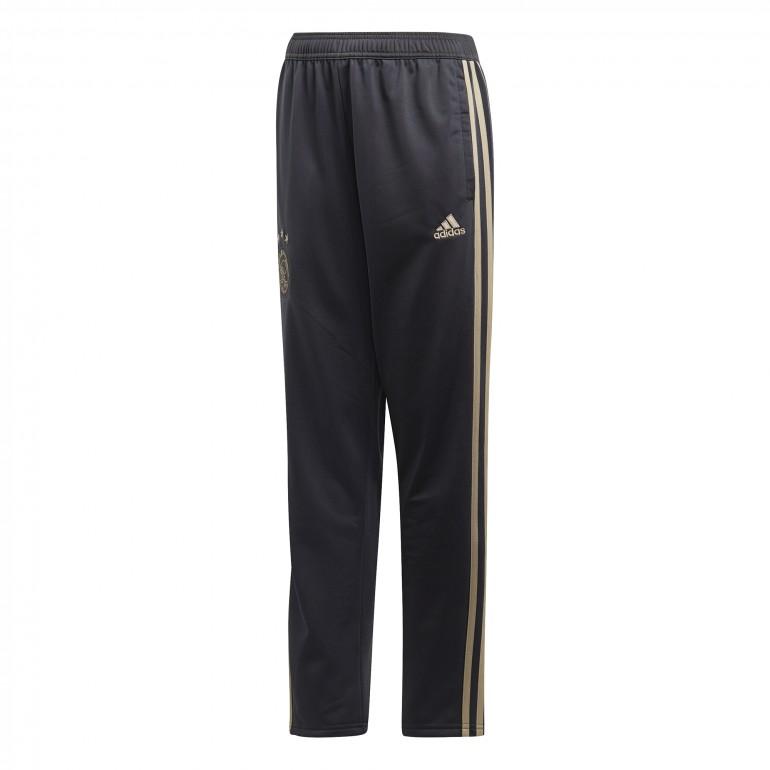Pantalon survêtement junior Ajax Amsterdam noir or 2018/19
