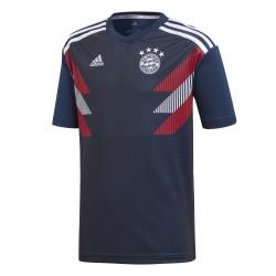 Maillot avant match junior Bayern Munich bleu foncé 2018/19