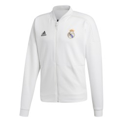 Veste survêtement Real Madrid ZNE blanc 2018/19
