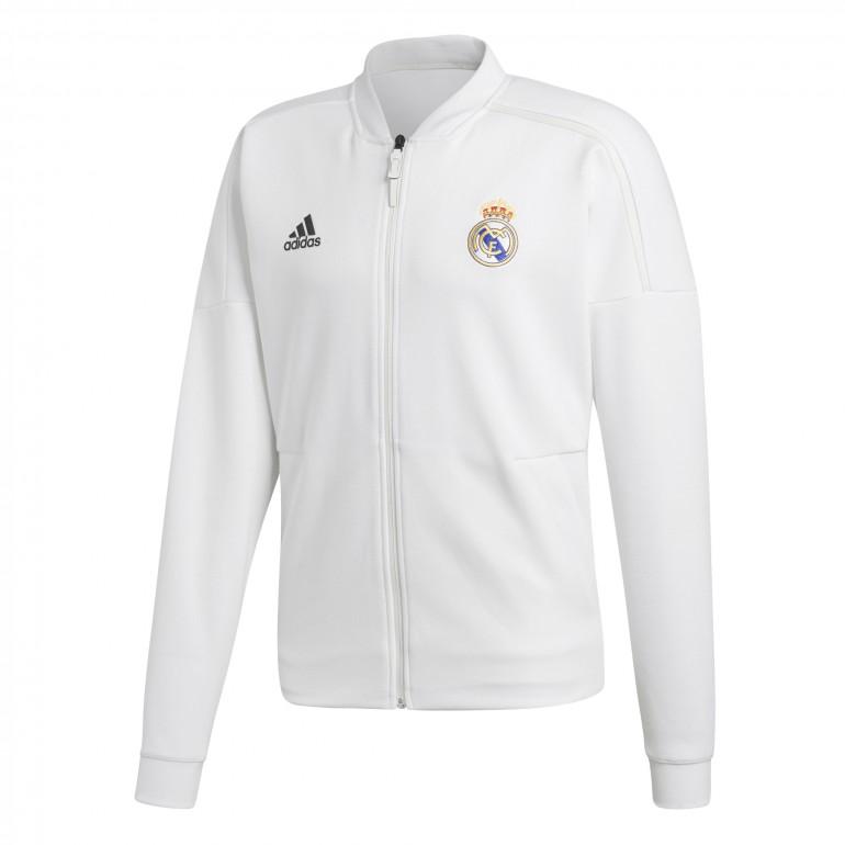 Veste survêtement Real Madrid ZNE blanc 2018/19