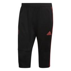 Pantalon survêtement 3/4 Manchester United noir 2018/19