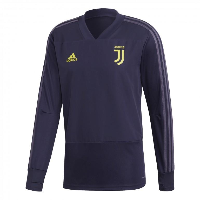 Sweat entraînement Juventus Europe violet 2018/19