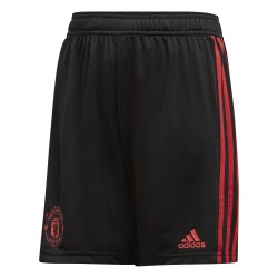 Short entraînement junior Manchester United noir 2018/19