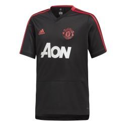 Maillot entraînement junior Manchester United noir 2018/19