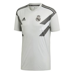Maillot avant match Real Madrid gris 2018/19