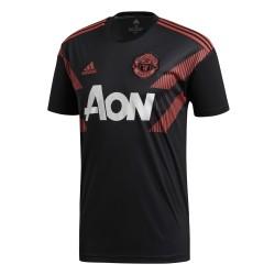Maillot entrainement Manchester United domicile noir 2018/19