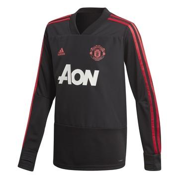 Sweat entraînement junior Manchester United noir 2018/19