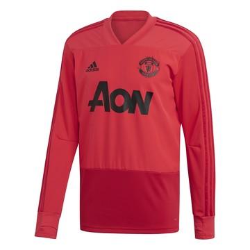 Sweat entraînement Manchester United rouge 2018/19