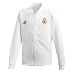 Veste survêtement junior Real Madrid ZNE blanc 2018/19