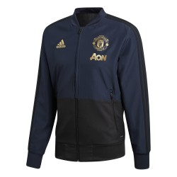 Veste survêtement Manchester United Europe bleu 2018/19