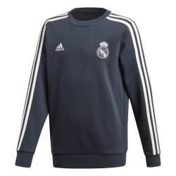Sweat entraînement junior Real Madrid bleu foncé 2018/19