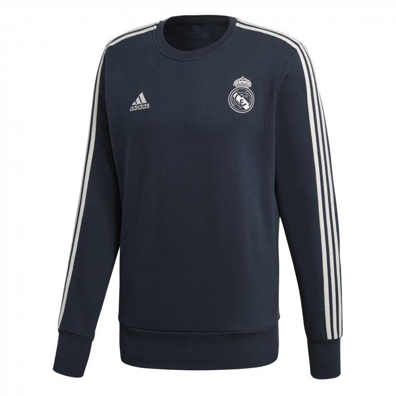 Sweat entraînement Real Madrid bleu foncé 2018/19