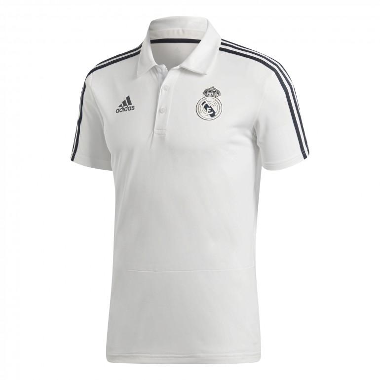 Polo Real Madrid blanc 2018/19