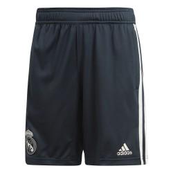 Short entraînement junior Real Madrid bleu foncé 2018/19