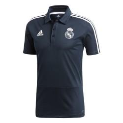 Polo Real Madrid bleu foncé 2018/19