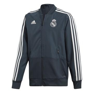 Veste survêtement junior Real Madrid bleu foncé 2018/19