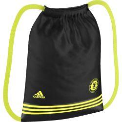 Sac à cordelettes Chelsea noir/jaune