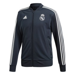 Veste survêtement Real Madrid bleu 2018/19