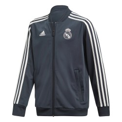 Veste survêtement junior Real Madrid bleu 2018/19