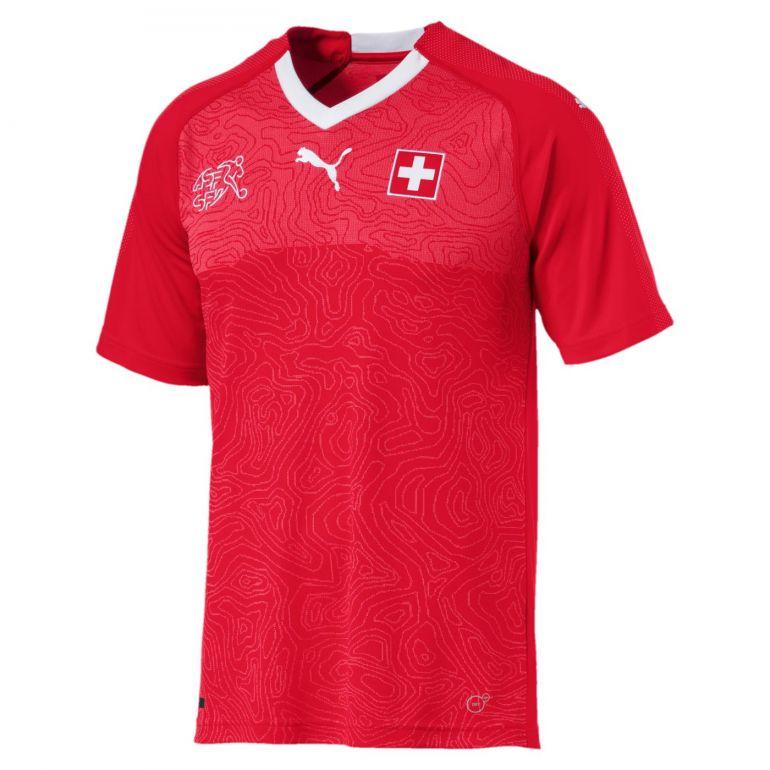 Maillot Suisse domicile 2018