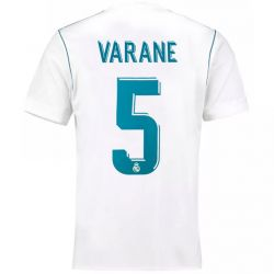 Maillot Varane Real Madrid domicile 2017/18