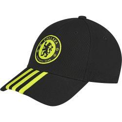 Casquette 3S Chelsea noir/jaune