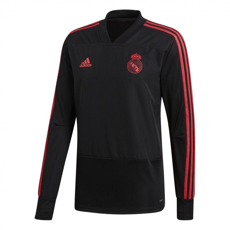 Sweat entraînement Real Madrid Europe noir 2018/19