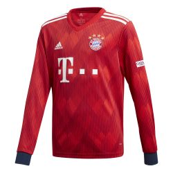 Maillot Bayern Munich domicile manches longues junior 2018/19