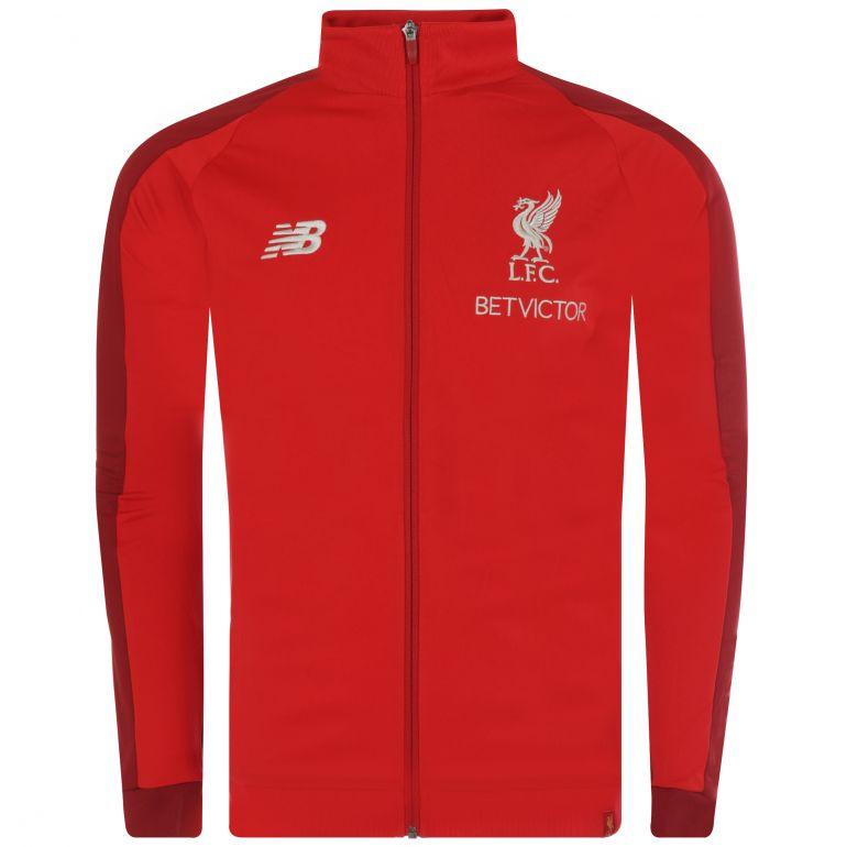 Veste survêtement Liverpool Elite rouge 2018/19