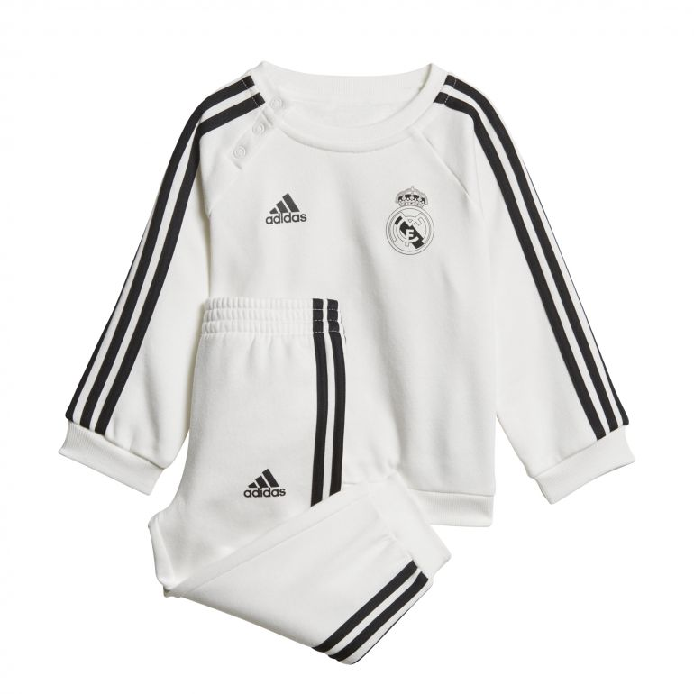 Ensemble survêtement enfant Real Madrid blanc 2018/19