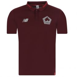 Polo LOSC rouge 2018/19